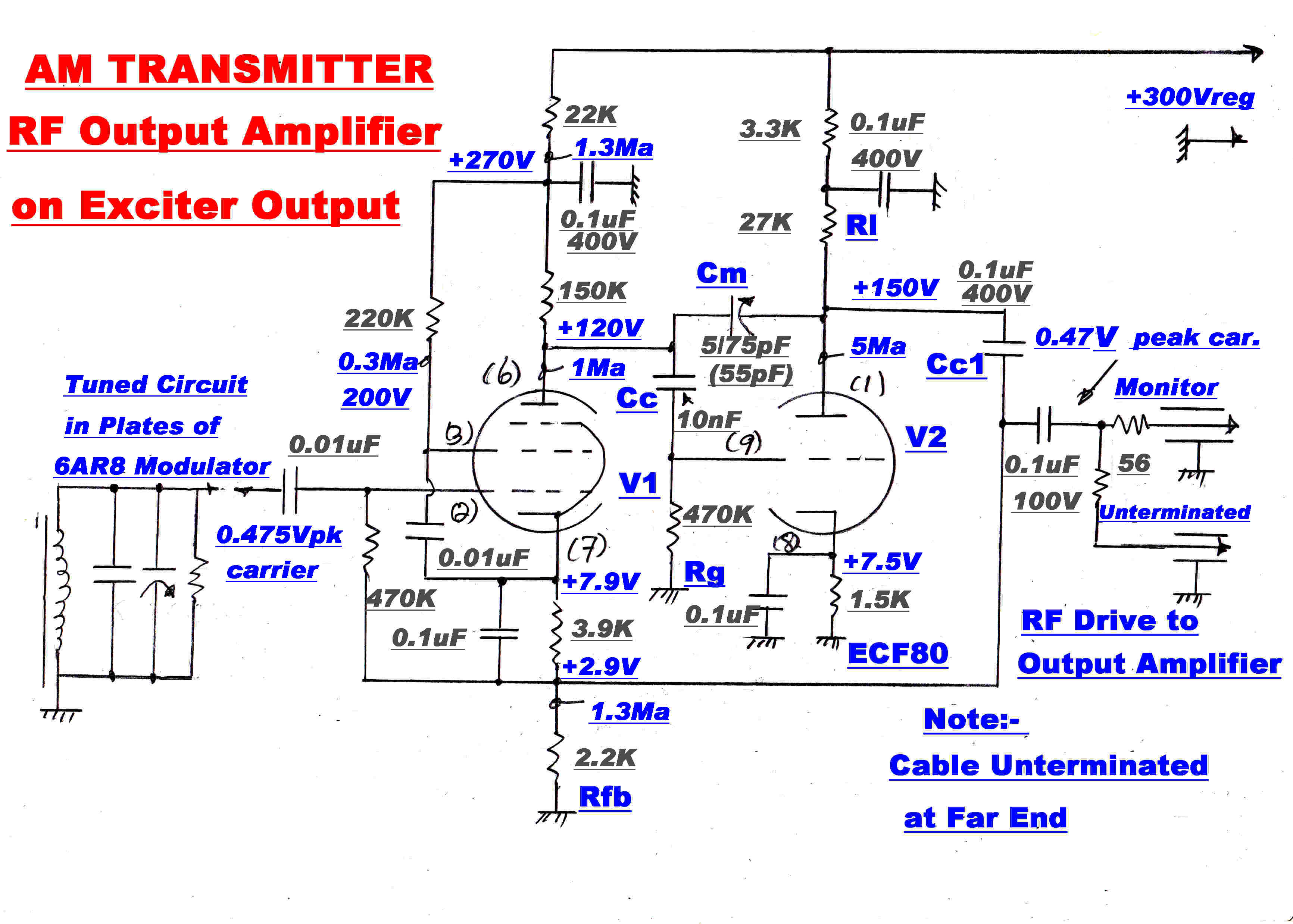 Amtransmitter In Amplitude Modulation The Of Microphone Preamplifier With Bjt And Op Amp Youspice Requirements Are 1very Low Distortion 2flat Response Across Any Am Channel