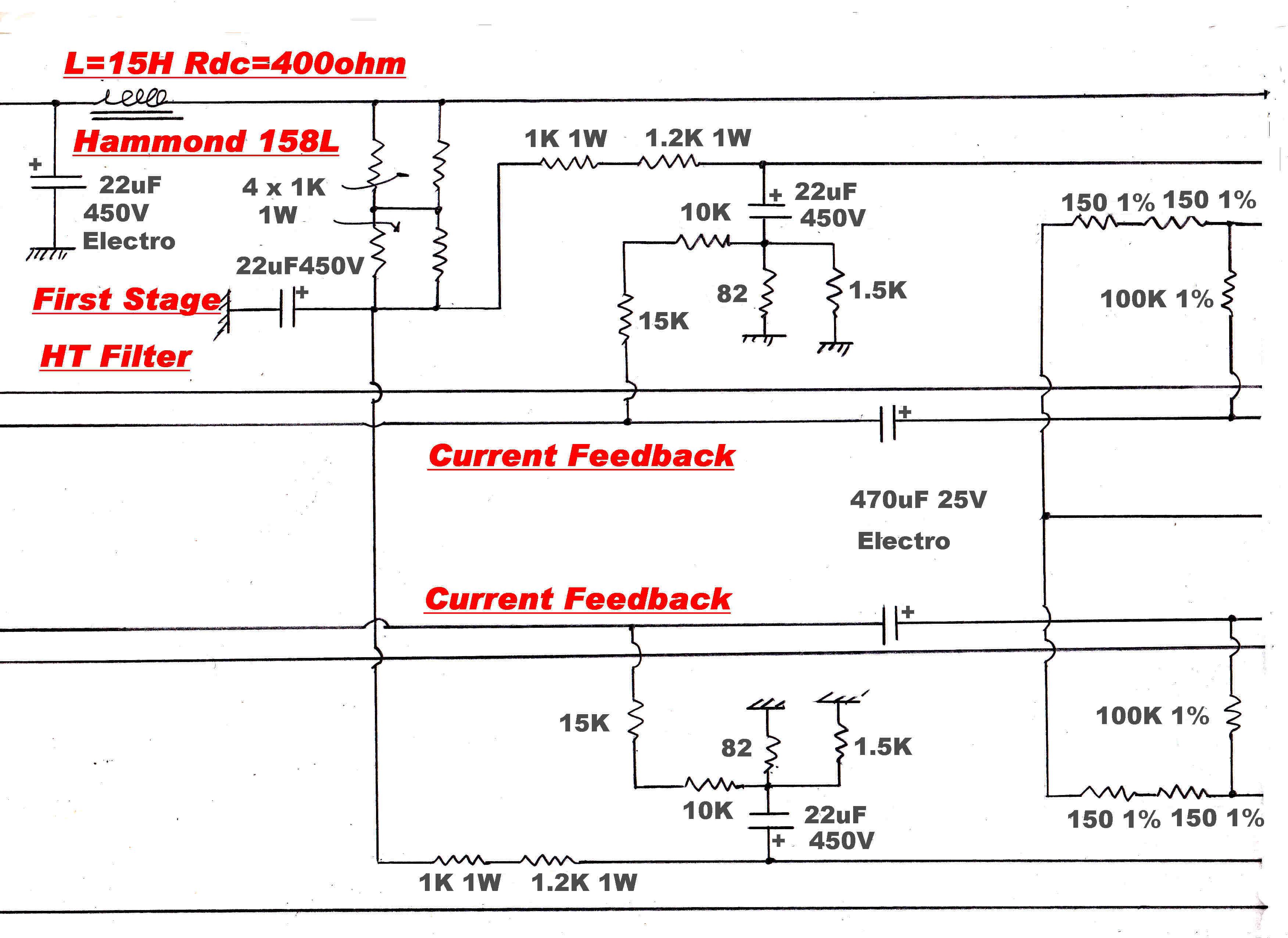Amplitudemodulation Current Amplifier Circuit 6v6 Diagram