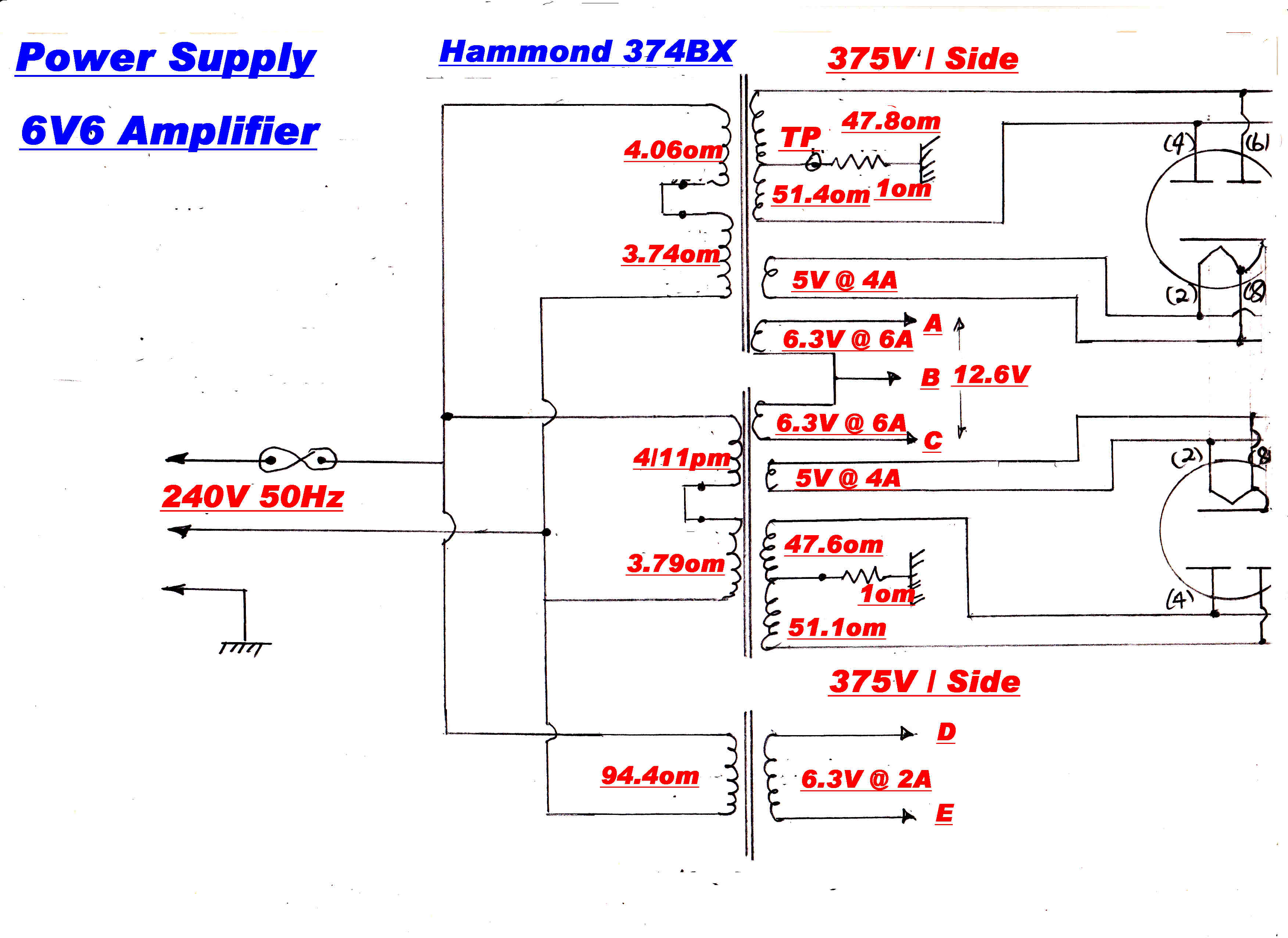 Amplitudemodulation Block Diagram For Power Supply Is Given Below The Circuit Of Vacuum Tube Amplifier Shown